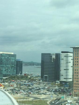 The Westin Boston Waterfront: Early morning view from room window