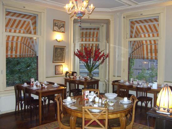 Hotel Museumzicht: SALA PER LA COLAZIONE