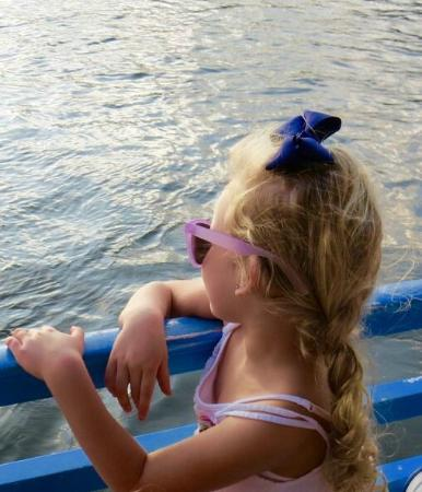 Marine Discovery Center: Kids enjoy our boat too.