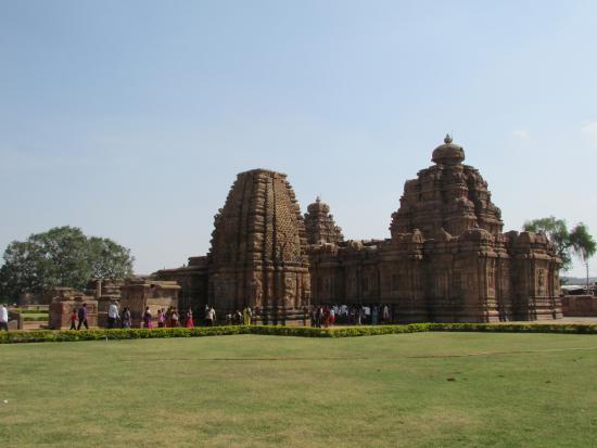 Pattadakal, Indien: Общий вид