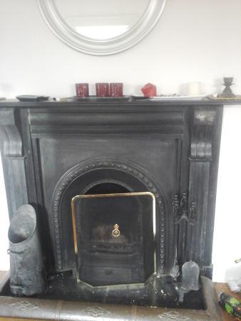 Ballymahon, Ирландия: Open fireplace