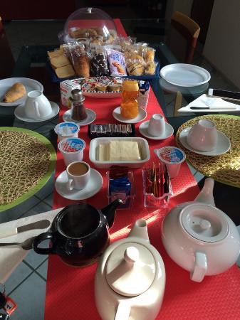 La Casa sul Lago : Завтрак