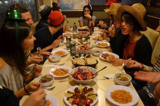 Second Home Hostel: Turkish Dinner Night