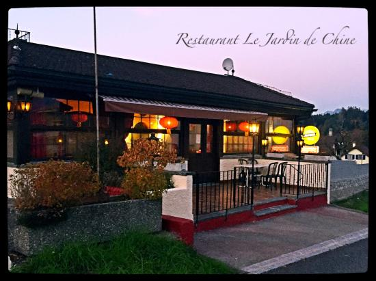 Le paquier restaurant picture of restaurant le jardin de for Restaurant le jardin mazargues