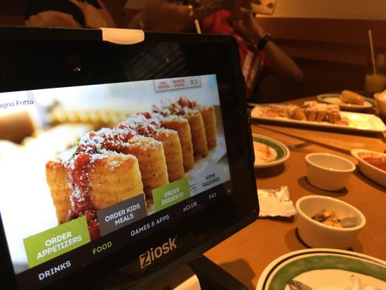 Self Service Kiosk Picture Of Olive Garden Houston