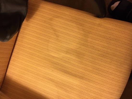 Country Inn & Suites By Carlson, Green Bay East: Big stain of who knows what on the desk chair.  GROSS!