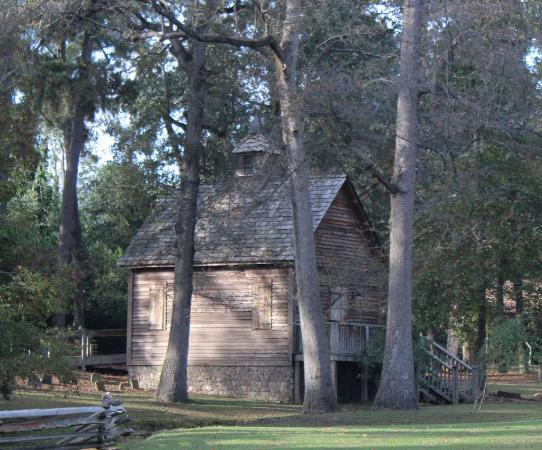 Living History Park: Meeting house and cemetery