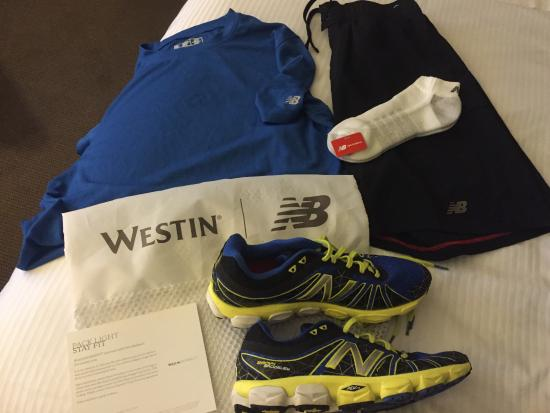 c1903dc4cc828 New Balance Running Gear - Picture of The Westin Tysons Corner ...