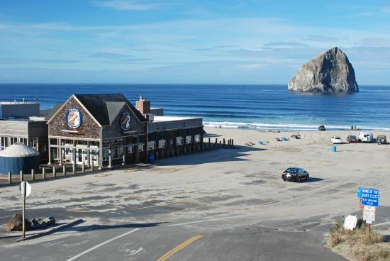 Inn At Cape Kiwanda View Of Beach Area From Hotel Balcony