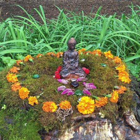 Omega Institute: Miniature Buddah
