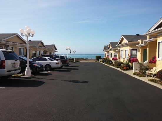 White Water Inn: Ocean view from the Whitewater Inn