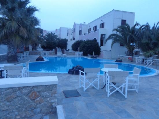 Karterádhos, Yunani: amazing pool view