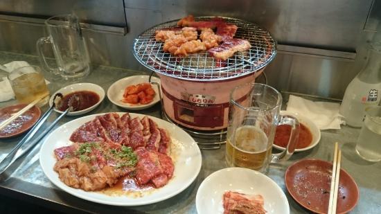 Charcoal fire grilled meat Kyorochan