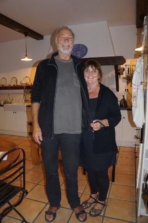 Ferme de Tayac : Mike & Suzanne