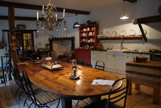 Ferme de Tayac : Dining room