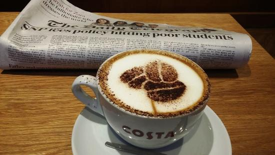 Perth and Kinross, UK: my cappuccino