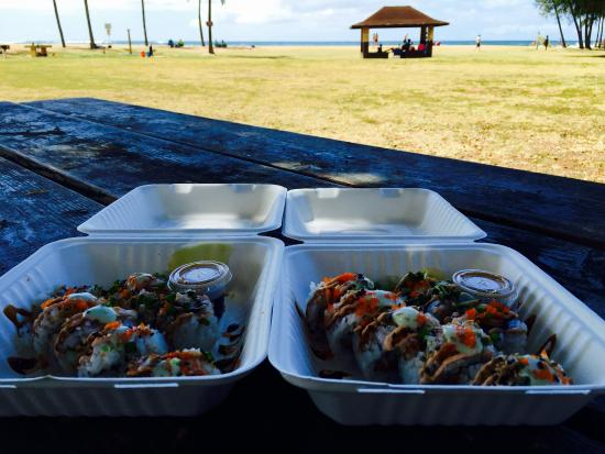 Gorilla bowl picture of makai sushi koloa tripadvisor for Asian cuisine kauai