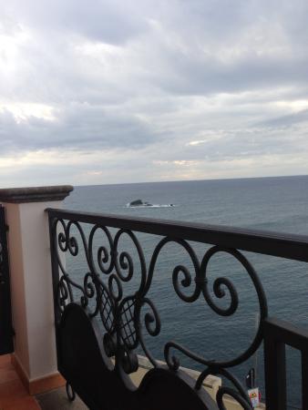 Hotel Nettuno : dal balcone