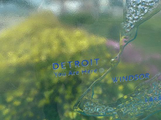 Detroit Riverwalk Map - Picture Of Detroit RiverFront Detroit - TripAdvisor