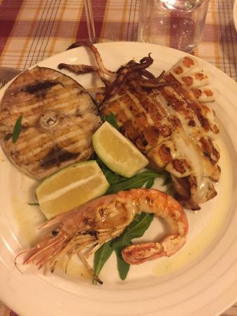 Antica Cantina di Sica : Grigliata mista