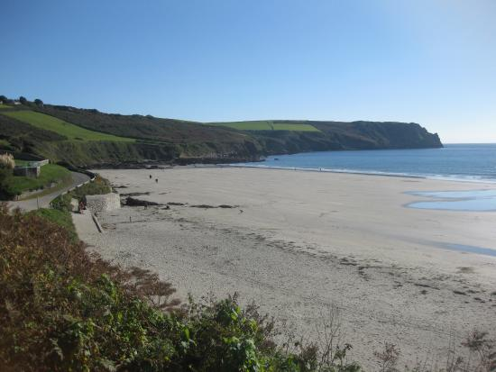 Veryan, UK: October on Carne beach