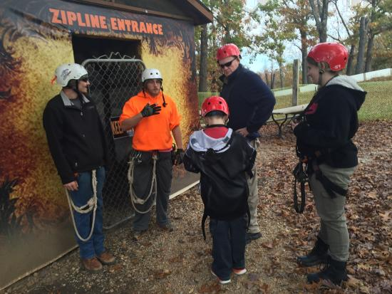 Nice spot for do it yourself before and after photos indian point indian point zipline adventure tours intro talk before you enter solutioingenieria Choice Image