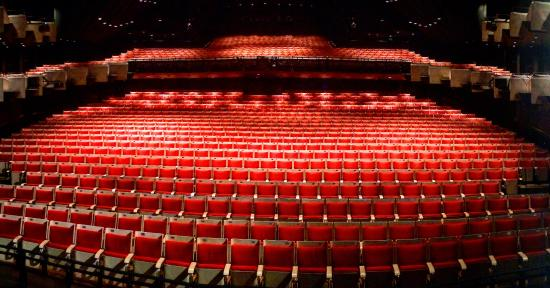 The Joan Sutherland Theatre Empty At The Sydney