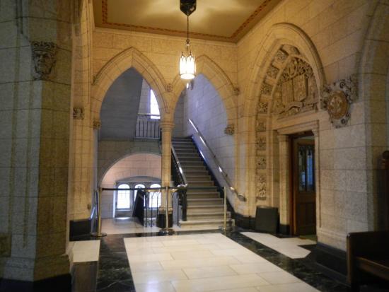 Ottawa, Canada: Parliament Hill buildings inside