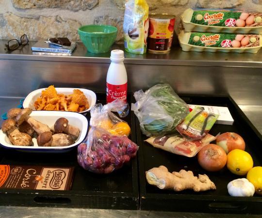 Eye Prefer Paris Cooking Classes: Fresh ingredients