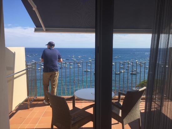 Hotel Mediterrani : Balcony from room