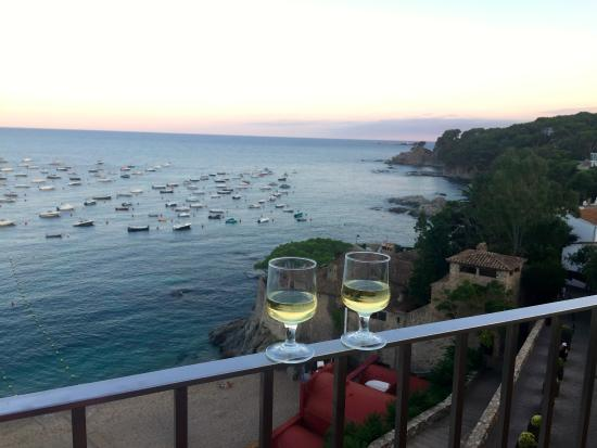 Hotel Mediterrani : Balcony at sunset