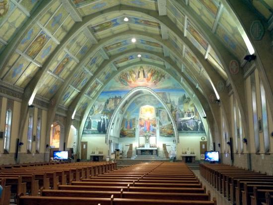 Baie Comeau, Canada: A beautiful Church