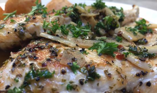 Franco's Italian Restaurant : Chicken