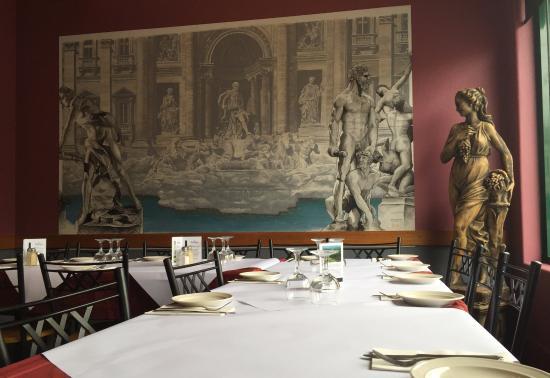 Franco's Italian Restaurant : Our Table