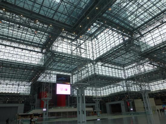 javits center picture of jacob javits convention center. Black Bedroom Furniture Sets. Home Design Ideas