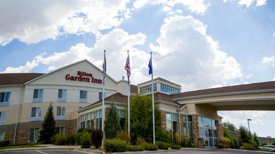 Hilton Garden Inn Colorado Springs Airport : Hotel Exterior