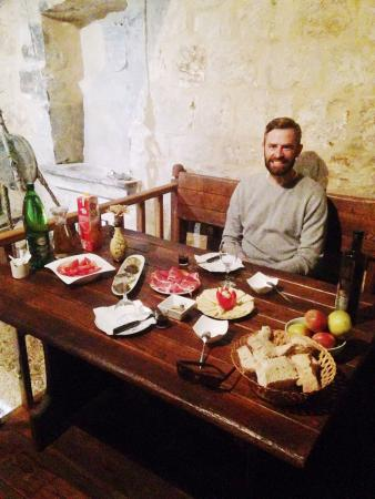 Brac Island, Croatia: Our tasting lunch at the Olive Oil Museum