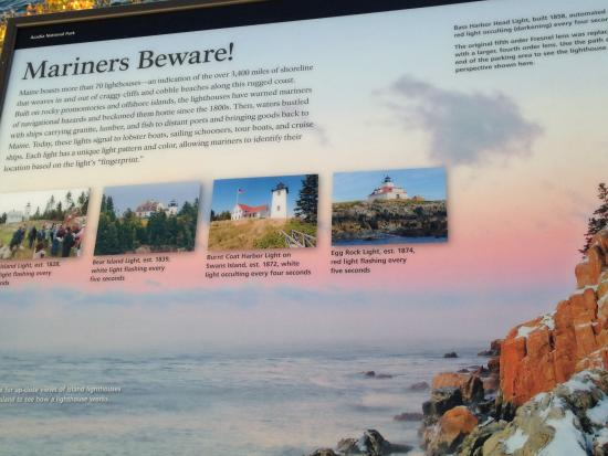 Bass Harbor, ME: Warning to Mariners