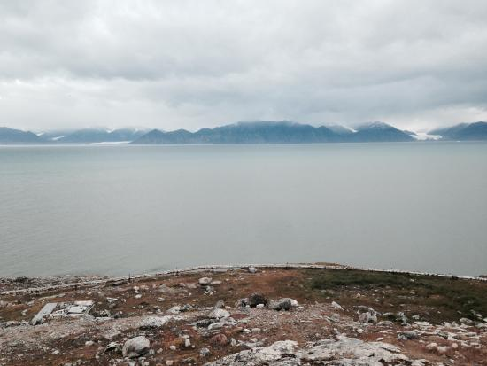Pond Inlet, Canada: View from the room