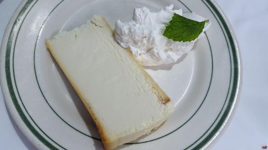 Wolfgang's Steakhouse: 코스요리 마지막에 제공된 맛있는 치즈케익