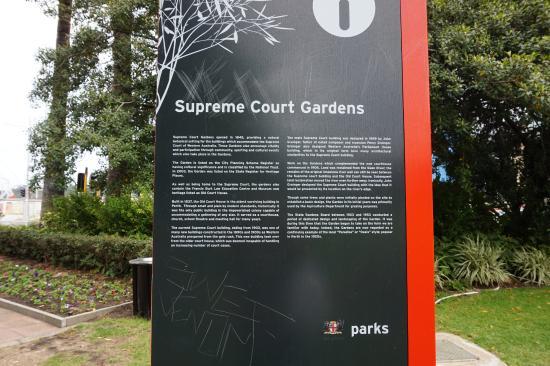 Supreme Court Gardens: Supreme Court Garden