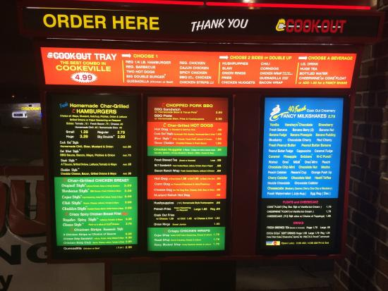 Photo0jpg Picture Of Cook Out Restaurants Cookeville Tripadvisor