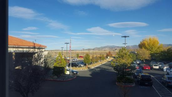 Gold Dust West Carson City: Good view from the room(second floor)