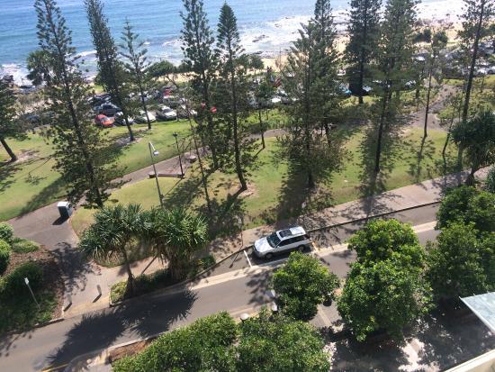 Pacific Beach Resort: Balcony