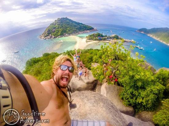 Goodtime Adventures, Koh Tao: Sunday Funday View Point
