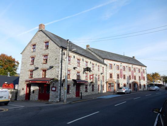 Cahir, İrlanda: Вид на кафе