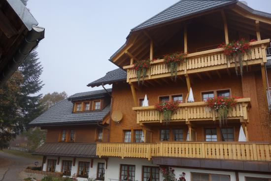Gasthof Schwarzwaldhaus : Côté chambres