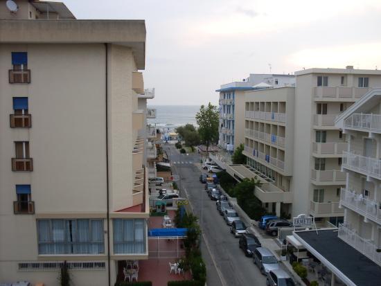 Hotel 4 Stagioni: vista mare