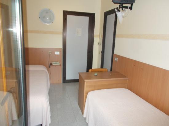 Hotel Ganfo: la stanza