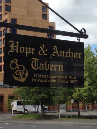 chicken parmagiana picture of hope anchor tavern. Black Bedroom Furniture Sets. Home Design Ideas